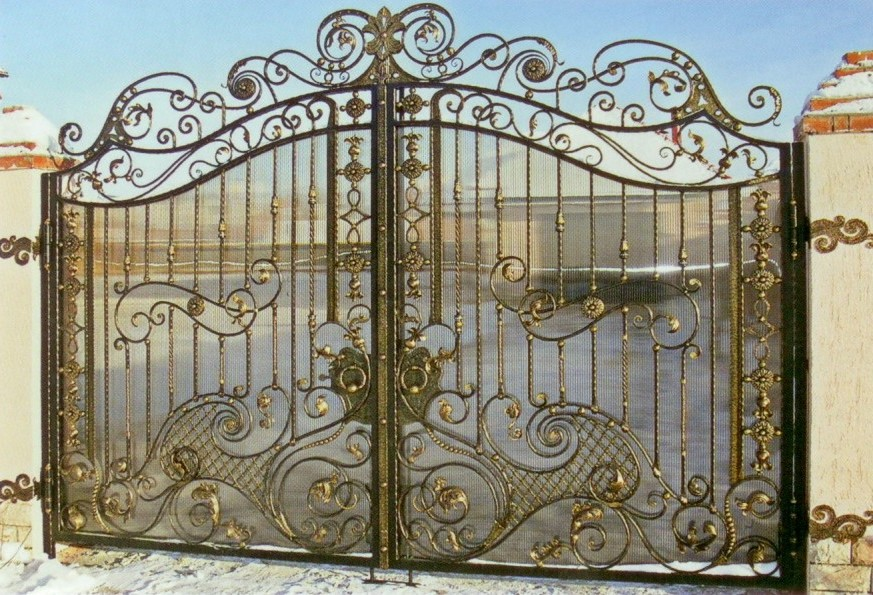 Ворота откатные Немешаево